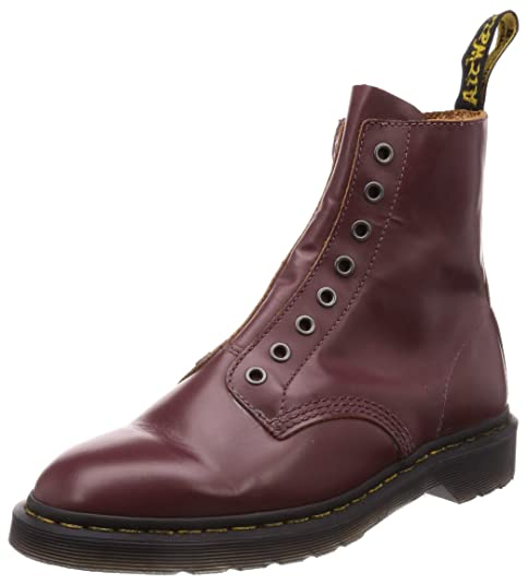 store shop buy best Dr. Martens Men's 1460 LL 8 Eye Boots, Oxblood, Red, 13 M US ...