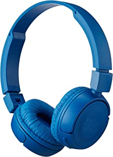 JBL Pure Bass Sound Bluetooth T450BT Wireless On-Ear Headphones Blue