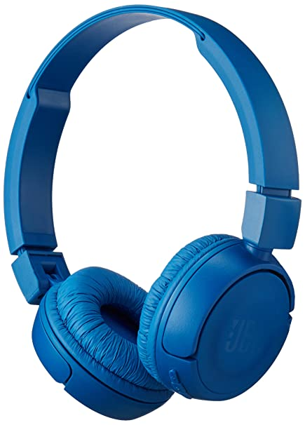 1c0f73775db JBL Pure Bass Sound Bluetooth T450BT Wireless On-Ear Headphones Blue