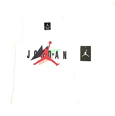 20c33af87bf89e Image Unavailable. Image not available for. Color  NIKE Jordan Jumpman Boys  White Tank Top ...