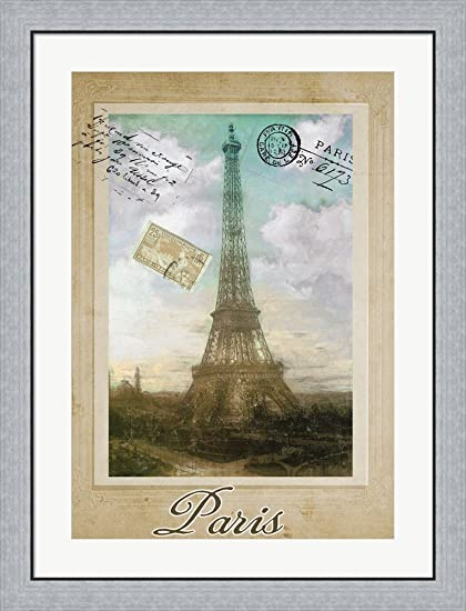 Amazon.com: European Vacation II by Color Bakery Framed Art Print ...
