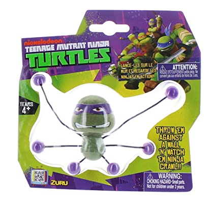 Amazon.com: ZURU Teenage Mutant Ninja Turtles Creepeez Wall ...
