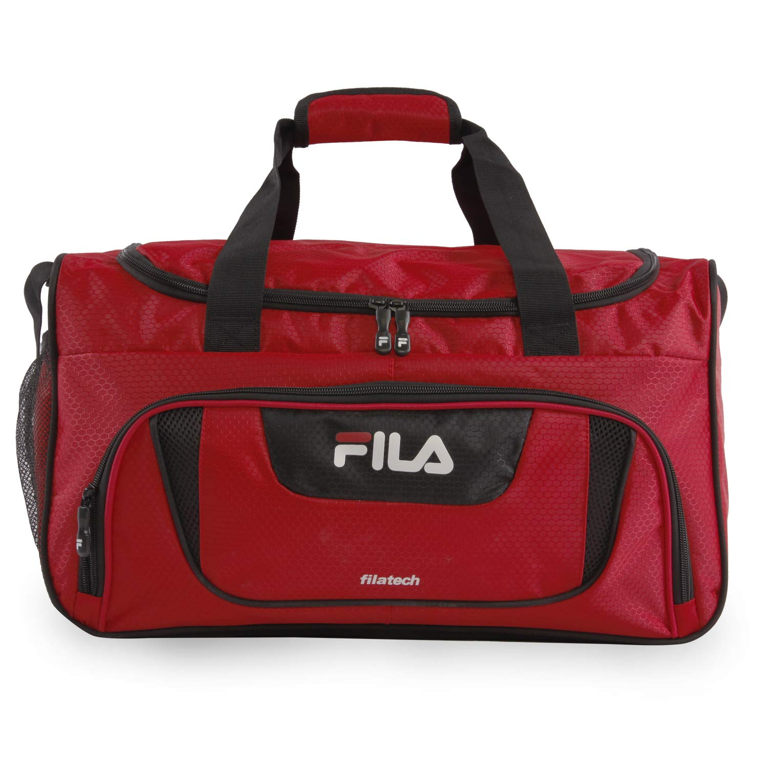 Fila Ace 2 Small Duffel Gym Sports Bag, Red, One Size
