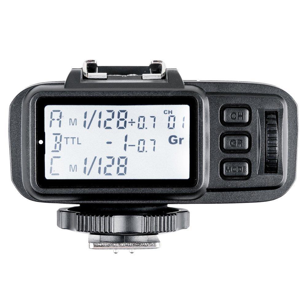 Godox X1T-C 2.4G E-TTL Wireless LCD Flash Transmitter for Canon Camera (X1T-C) by Godox (Image #2)