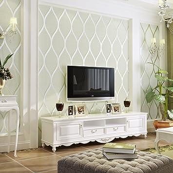 Tv hintergrund Einfache moderne tapeten,3d en relief Stereo ...