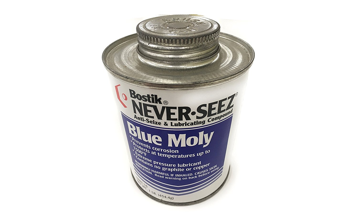 Blue Moly Compounds, 8 oz Brush Top Can (10 Pack)
