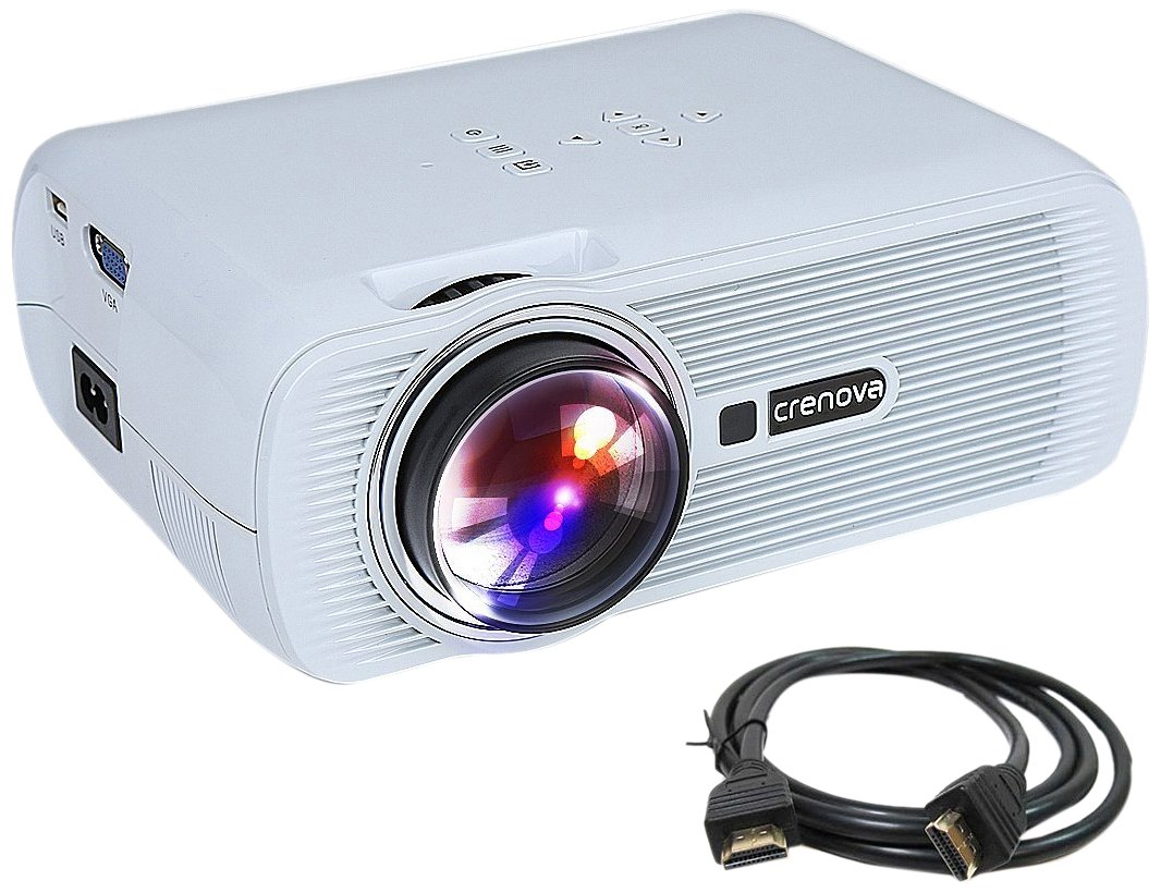 Crenova XPE460 LED Video Projector Home Projector