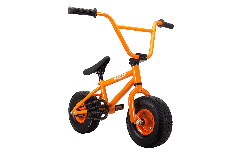 RayGar Bandit - Mini bicicleta BMX - naranja: Amazon.es: Deportes y aire libre