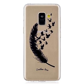 HopMore Funda Samsung Galaxy A8 2018 / A5 2018 Silicona ...