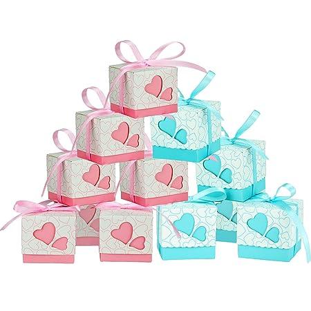 100pcs cajas papel caramelo bombones regalos - Caja Conos ...