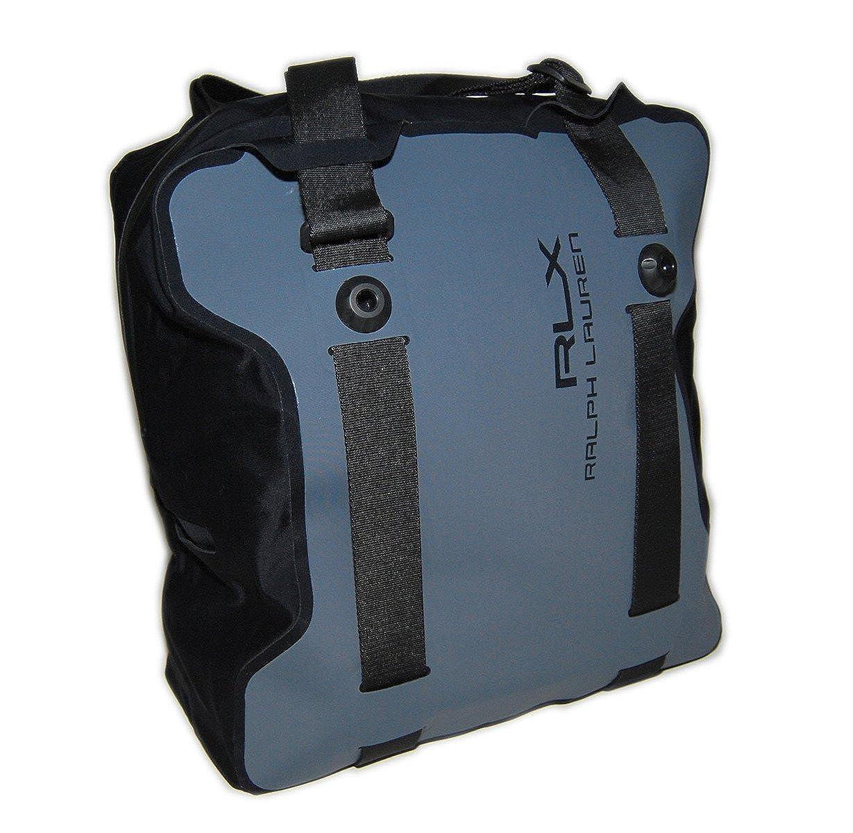a18182f7b5 Amazon.com  Ralph Lauren RLX Waterproof Sport O-Range Solar Tote Bag Grey  Black Italy  Clothing