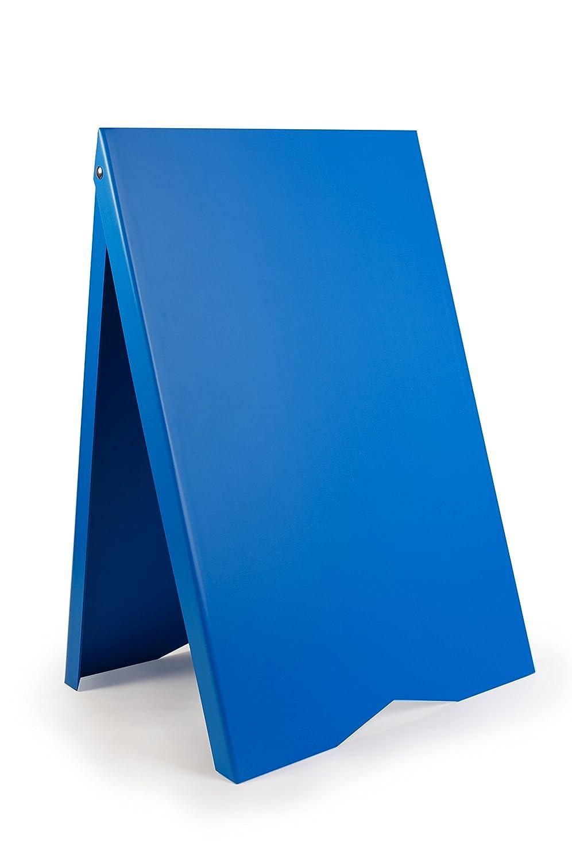 Werbetafel, Gehweg, Board, Display, Ständer, PVC, leicht RESTAURANT, HOTEL, PUB, Gasthof BLUE Ständer DWA