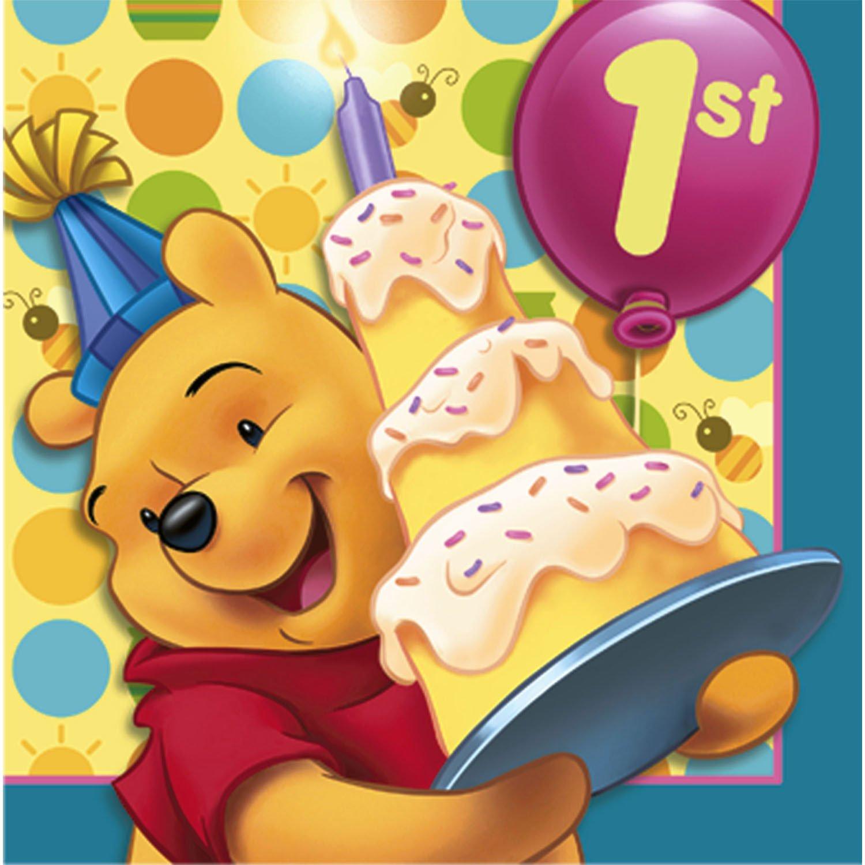 Нарисовать картинки, открытки с днем рождения ребенку годик