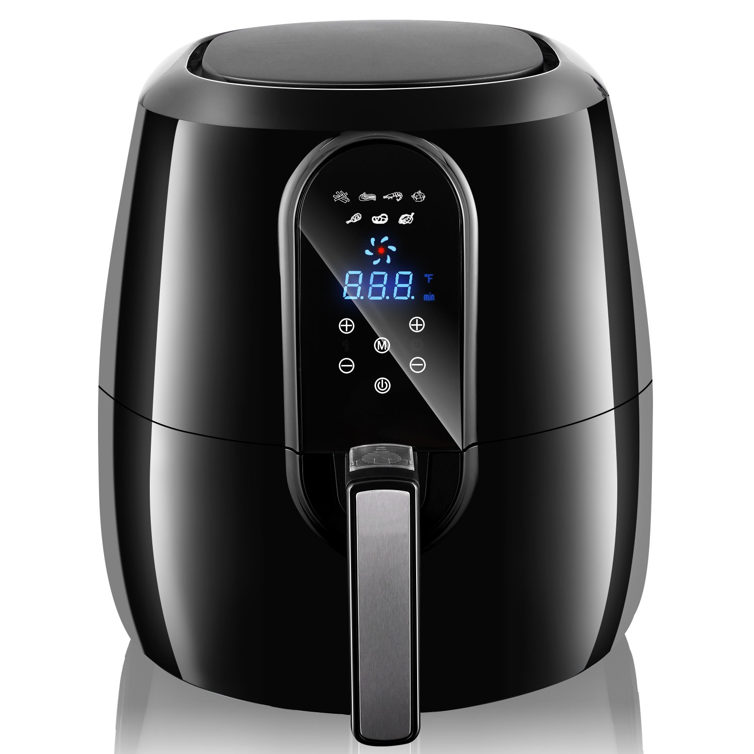 Electric Air Fryer XL 5.2L Digital,Oil Free Power Stainless Steel(US STOCK)