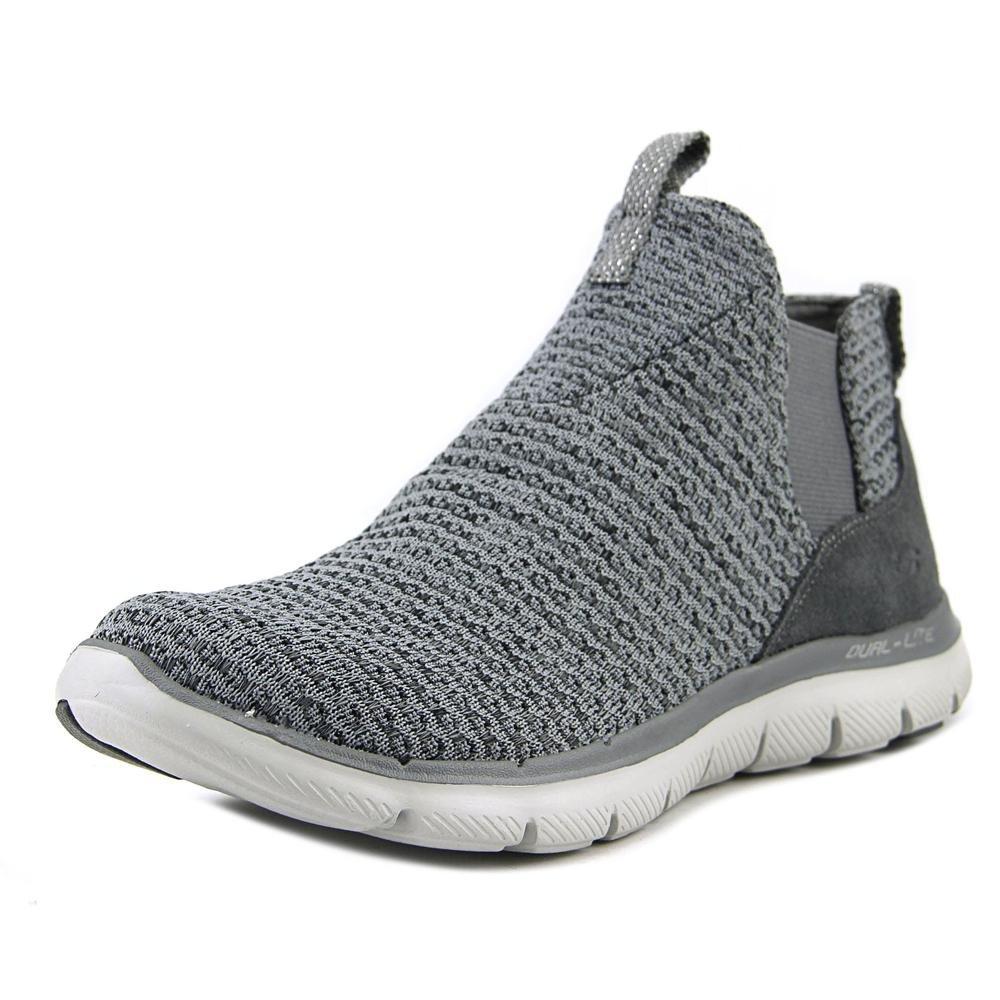 Skechers Flex Appeal 2.0 Athletic Women's Shoes B01MR94Y6D 7.5 B(M) US|Charcoal