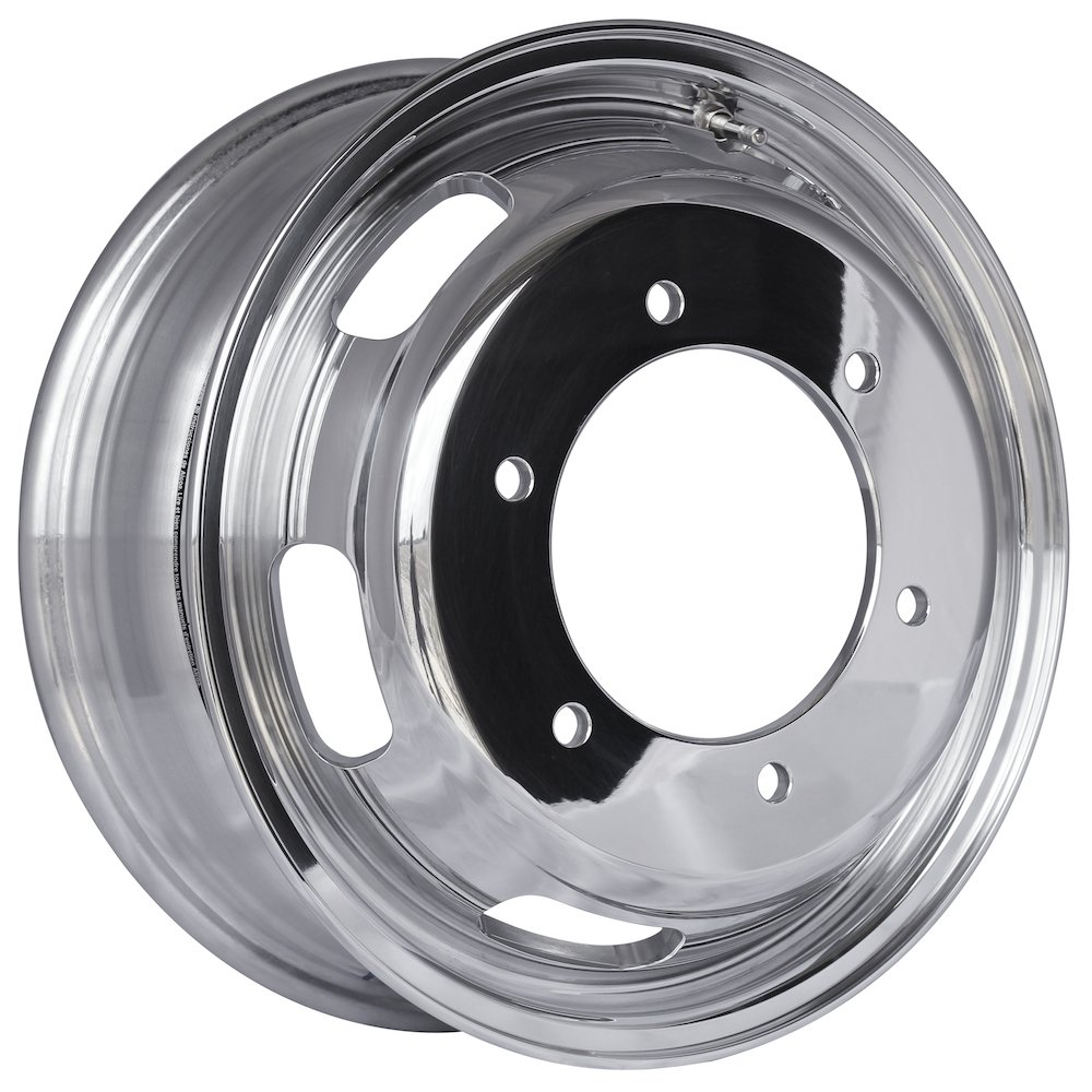 Alcoa 16'' x 5.5'' Polished Front Wheel for a Freightliner or Mercedes Sprinter (250801)