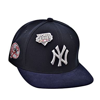 c75ed7b60db1c New Era 9Fifty Hat New York Yankees MLB World Series 2009 Fall Classic Blue  Cap