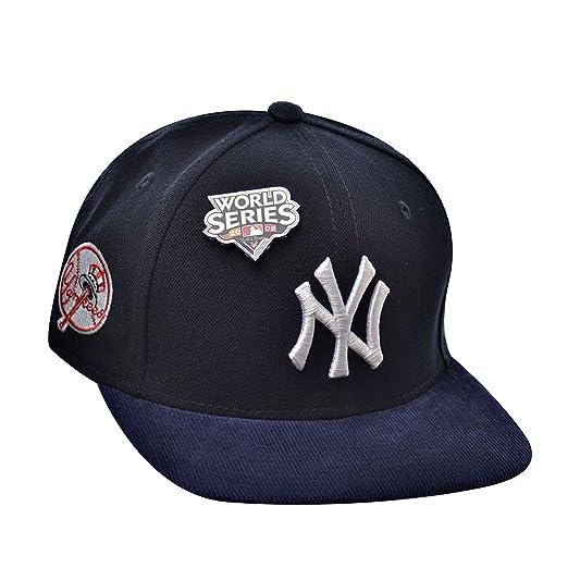 ea18ce6b382 New Era 9Fifty Hat New York Yankees MLB World Series 2009 Fall Classic Blue  Cap