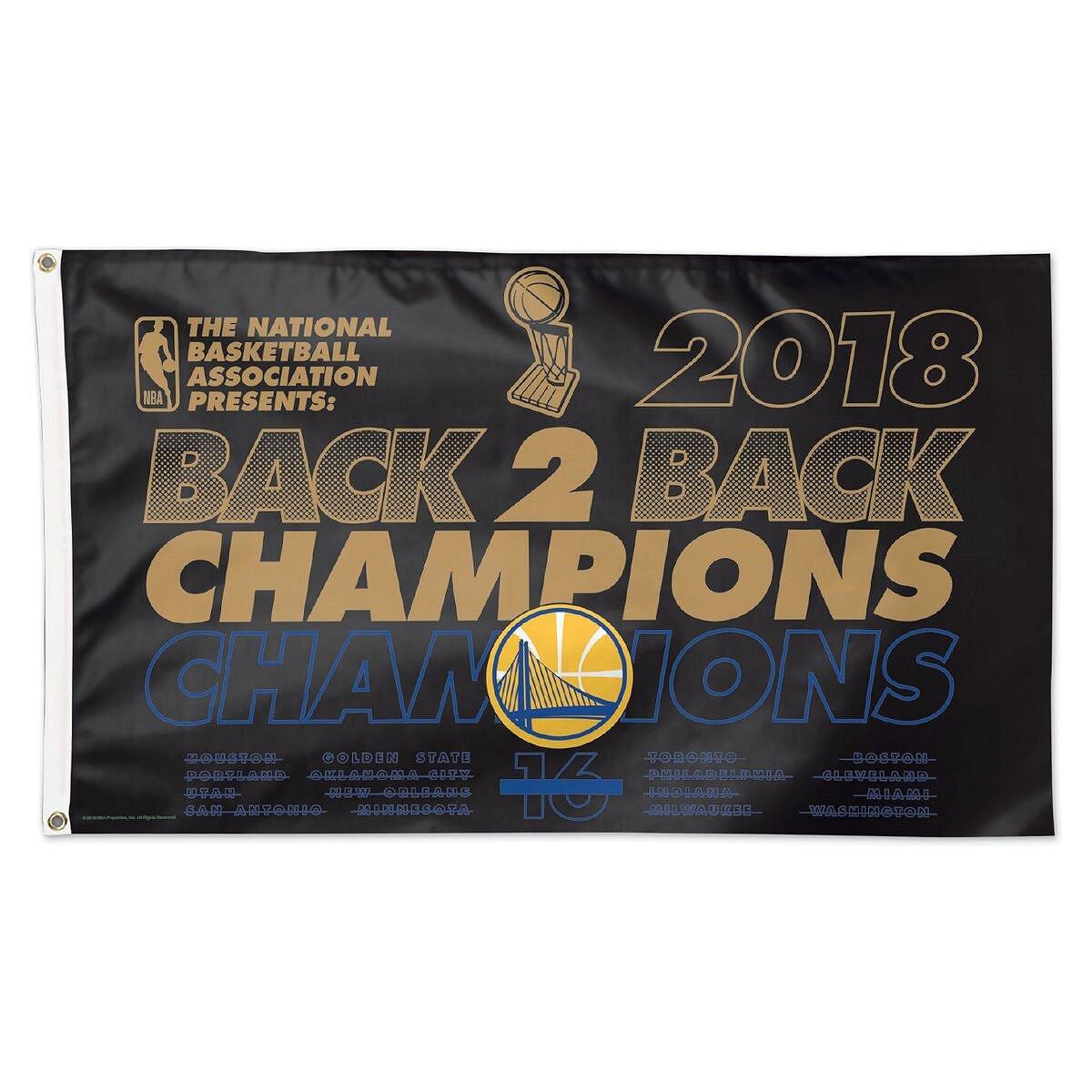 WinCraft Golden State Warriors 2018 NBA Champions Grommet Flag by WinCraft