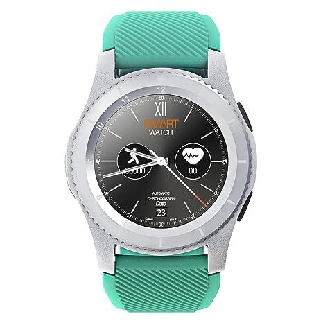Kivors reloj inteligente, Bluetooth Smartwatch Fitness Rastreador con pantalla táctil/podómetro para Android &