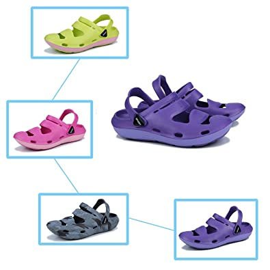489090fb6 Beach Breathable Closed Toe Shoes Men Women Sandals Summer Couple Flop flip  Light and Comfortable Shoes