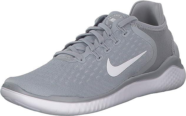 Nike Free Rn 2018, Zapatillas de Running para Hombre, Gris (Wolf Grey/White/White/Volt 003), 42.5 EU: Amazon.es: Zapatos y complementos