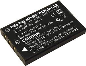 3.7V Li-ion Battery Designed for hp Digital Camcorder Model v5040u,