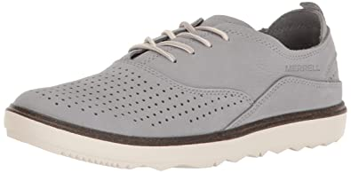 Merrell Women's Around Town Lace Air Fashion Sneaker, Sleet, ...