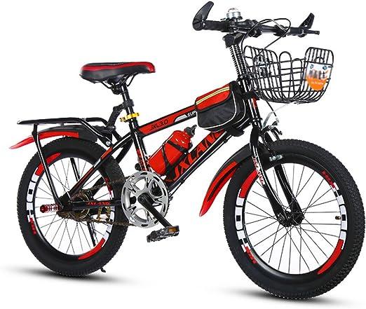 Bicicletas de montaña niños niño niña 18〃/20〃/22〃 (Size : 22in ...