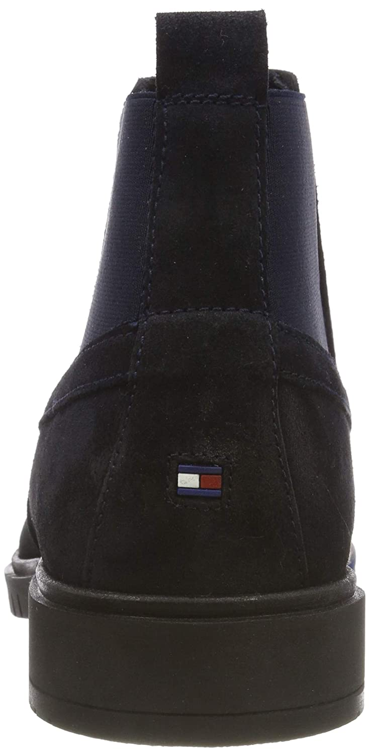 Tommy Hilfiger Herren Flexible (Midnight Dressy Suede Chelsea Boots Blau (Midnight Flexible 403) 3e8ba8