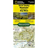 Great Smoky Mountains National Park Day Hikes (National Geographic Topographic Map Guide, 1702)