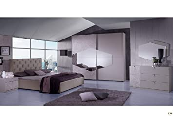 Lignemeuble Terence Taupe Chambre A Coucher Design L
