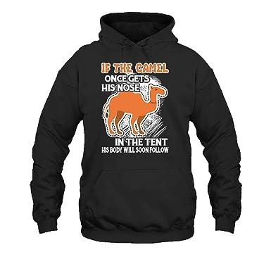 bb58e56d Sheep Fly Cool If The Camel Tshirt, Sweatshirt Design, Hoodie (S,Black