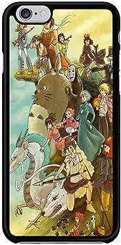 Kristine Avery Studio Ghibli Characters Phone Case Coque iPhone 6 Plus and 6S Plus