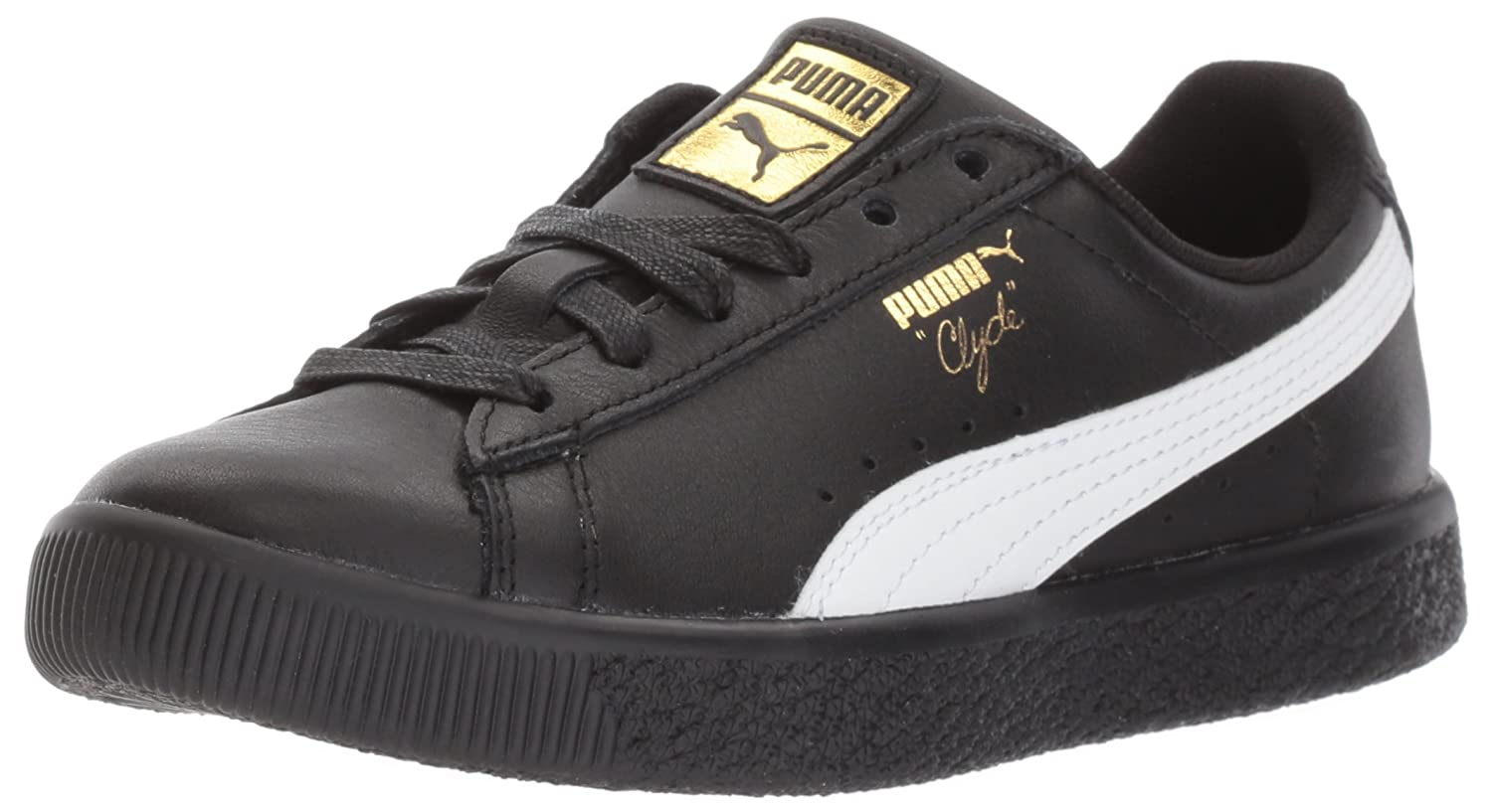 the latest 52908 3501d PUMA Clyde Core L Foil Kids Sneaker