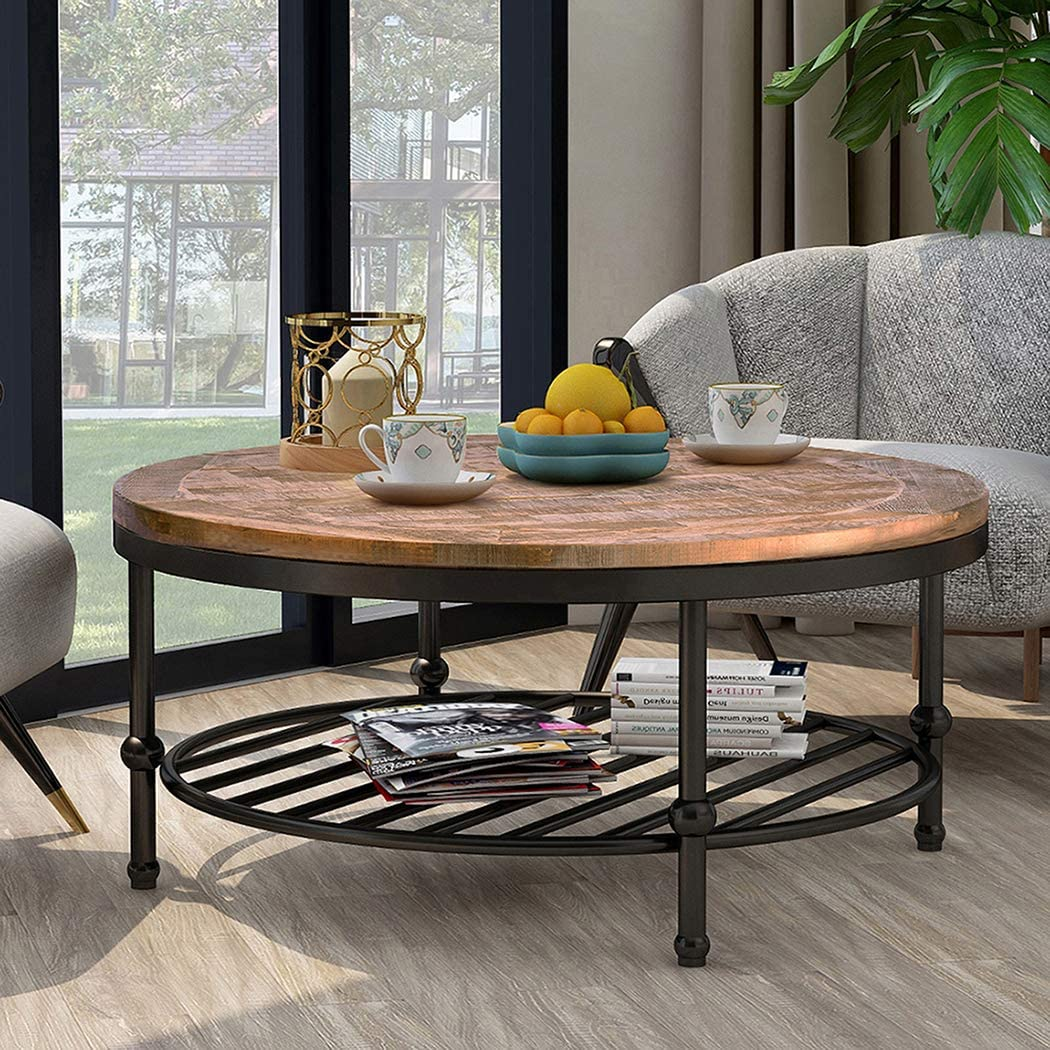 Hillside Rustic Natural Coffee Table