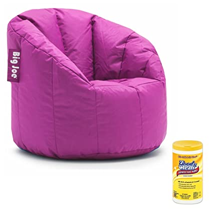 Big Joe Milano Soft, Comfortable, And Stain Resistant Bean Bag Chair For  Adults With