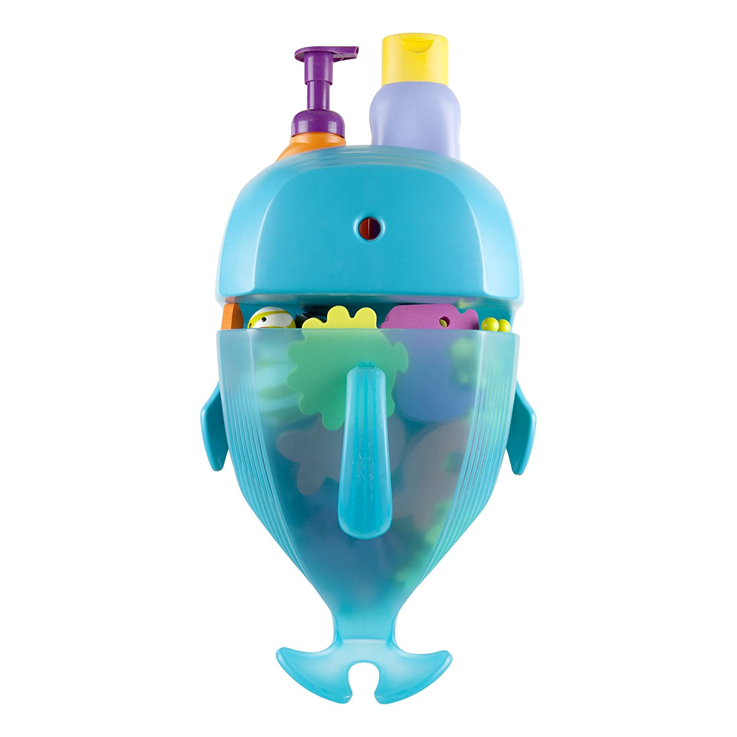 Amazon.com : Boon Whale Pod Drain and Storage Bath Toy Scoop, Blue ...