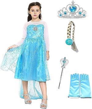 Inception Pro Infinite Size 150 - 7/8 años - Disfraz de Elsa con ...