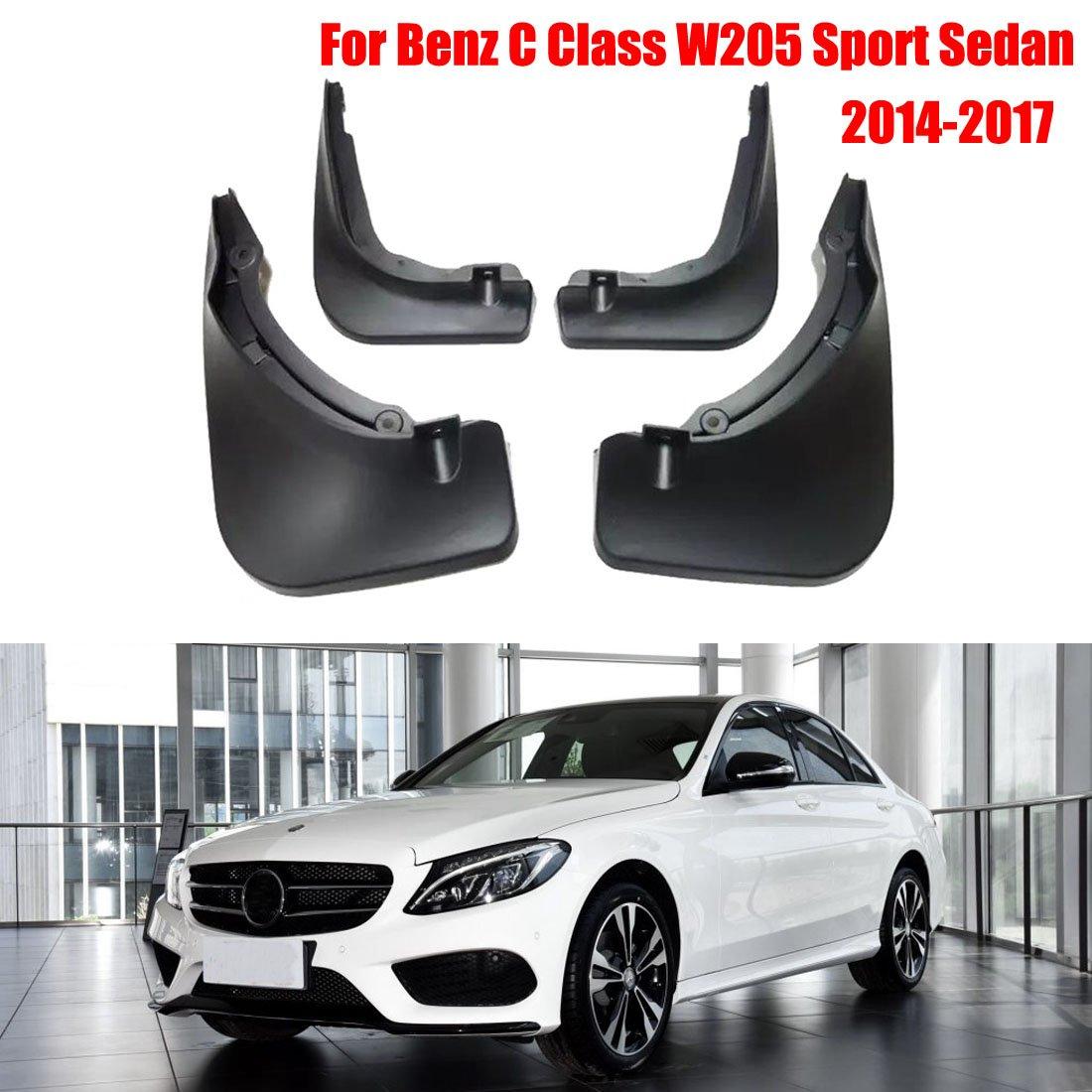 /2018 GDsun Auto parafanghi parafanghi paraspruzzi parafanghi paraspruzzi parafango protettiva per Benz classe C W205/sport berlina 2014/