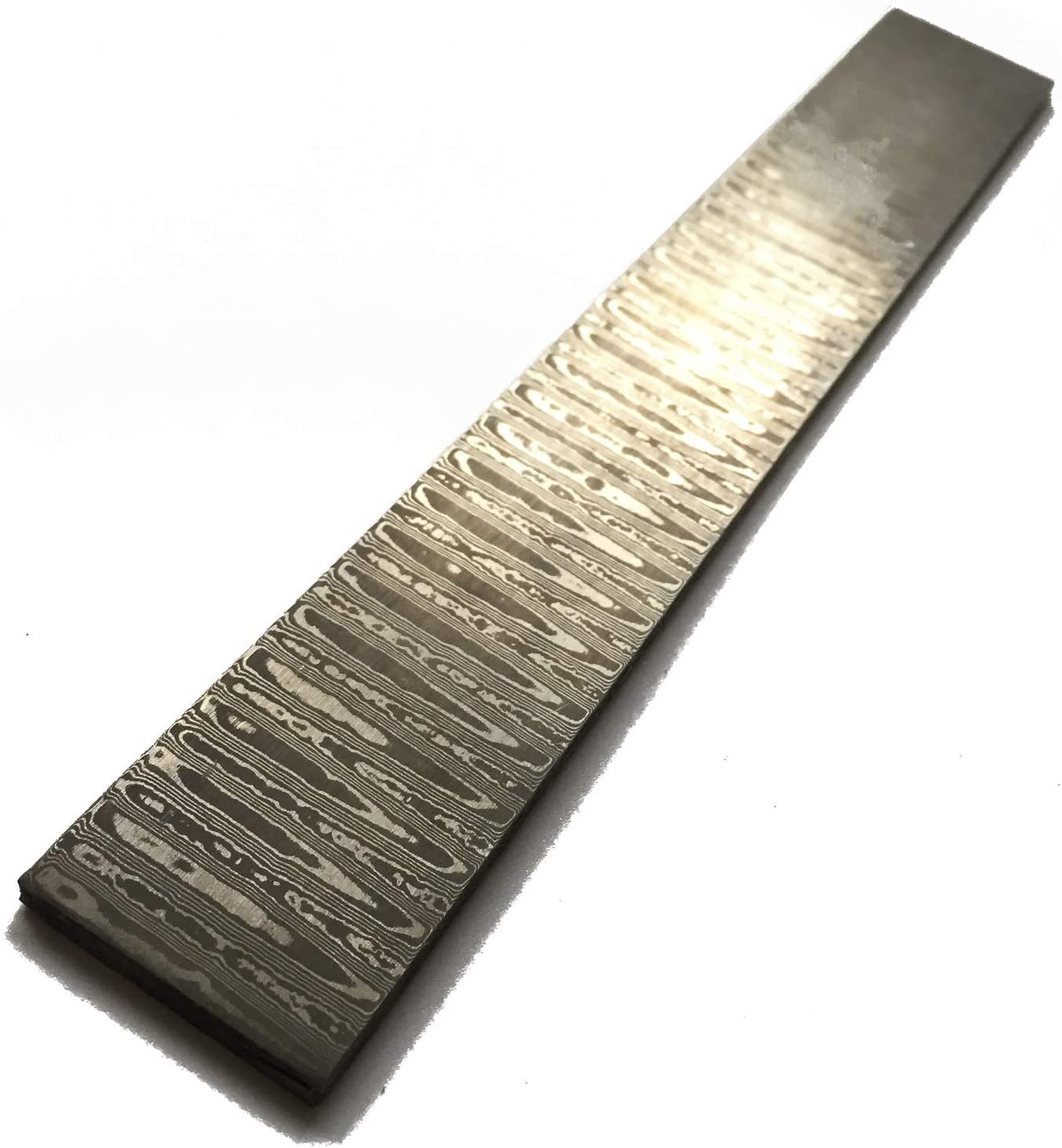 "Excellent 12/""Damascus steel Custom made cutlery set billet blank WB"