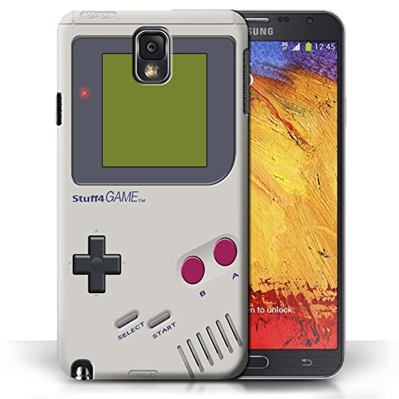 low priced a1bb2 cbe5b STUFF4 Phone Case / Cover for Samsung Galaxy Note 3 / Nintendo Game Boy  Design / Games Console Collection