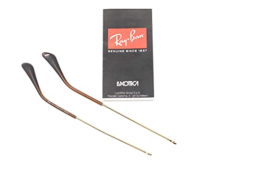 cbe1695e76225 Amazon.com  Authentic Ray Ban RB3025 Replacement 140 mm Gold Temples ...