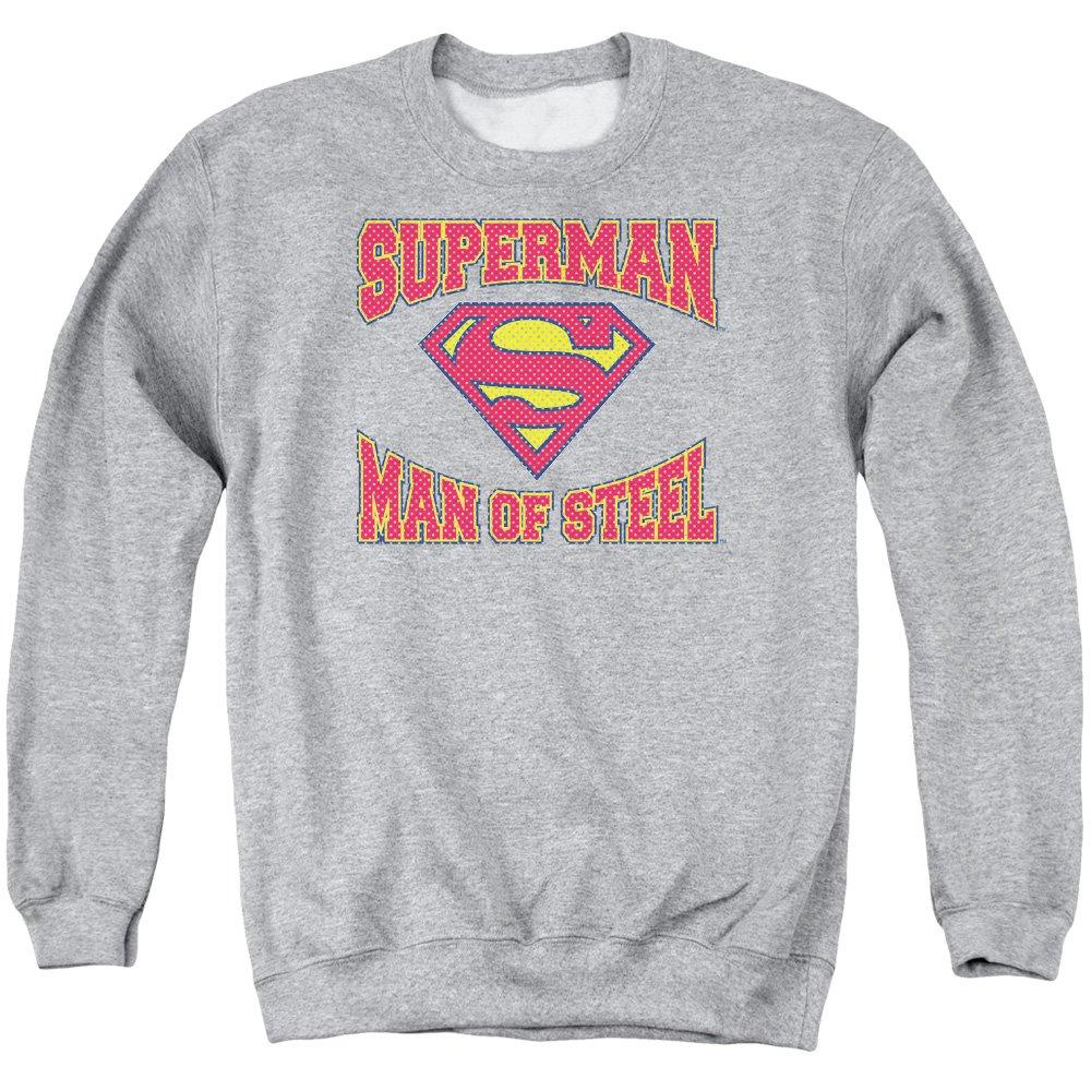 Superman Männer Mann aus Stahl Jersey Pullover