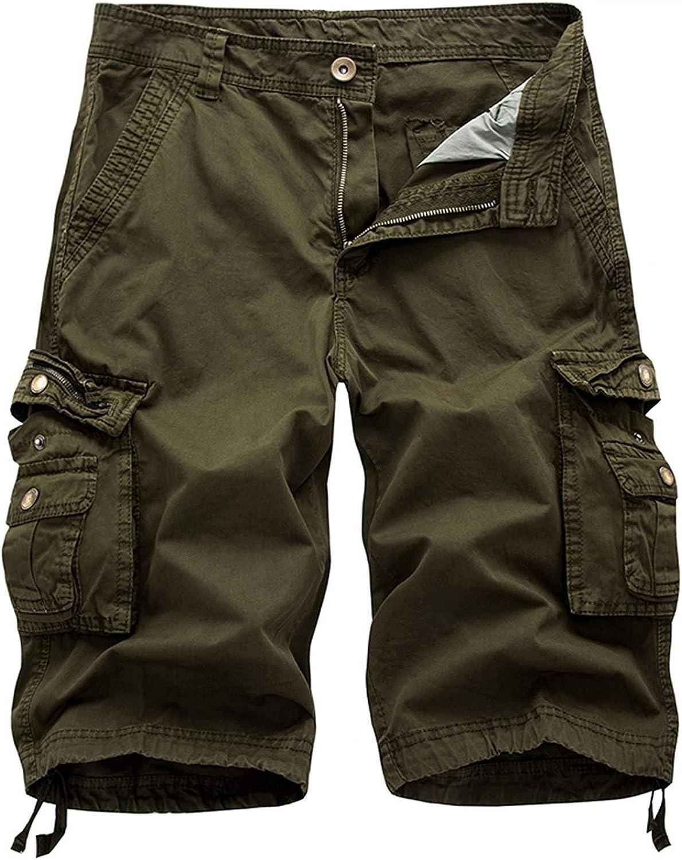 Hakjay Men's Big and Tall Cargo Shorts