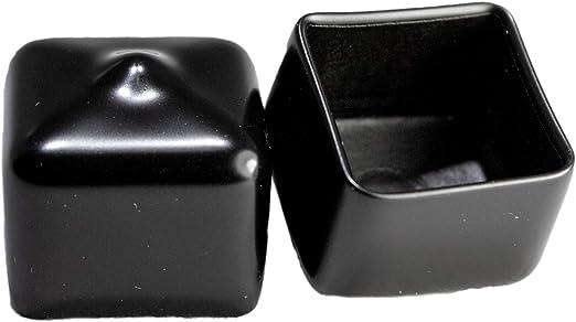 4 in White Vinyl End Cap