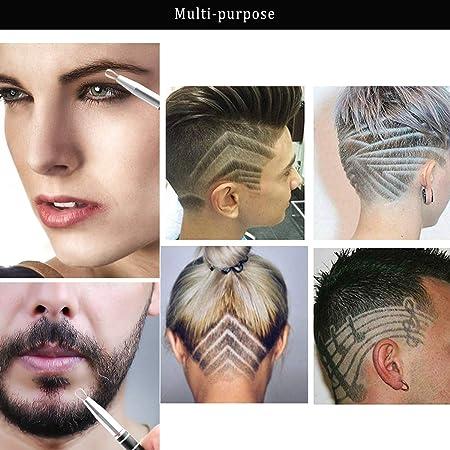 Amazon.com: Cuchilla de afeitar para el pelo, diseño ...