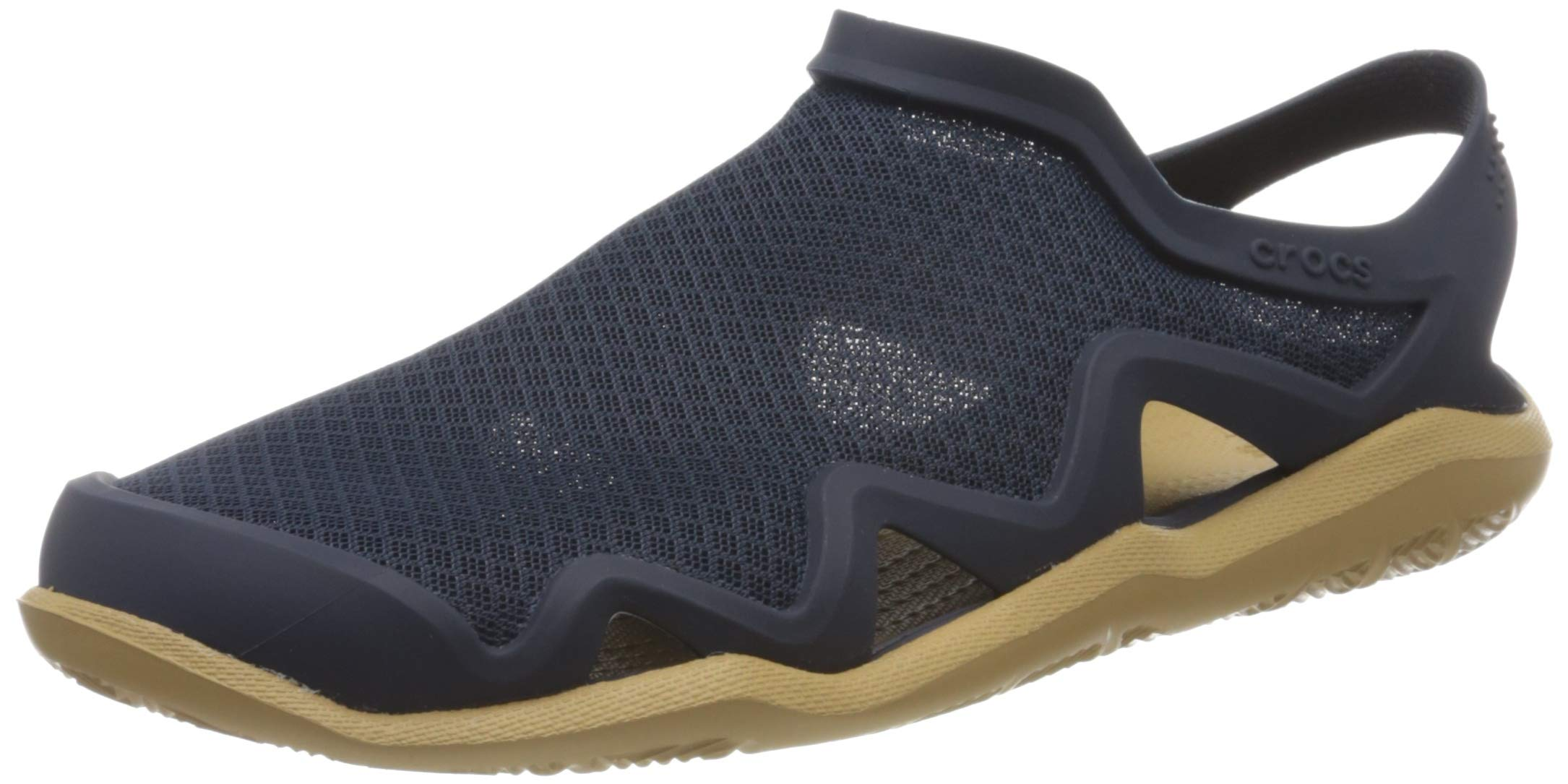Crocs Men's Swiftwater Mesh Wave Closed Toe Sandals