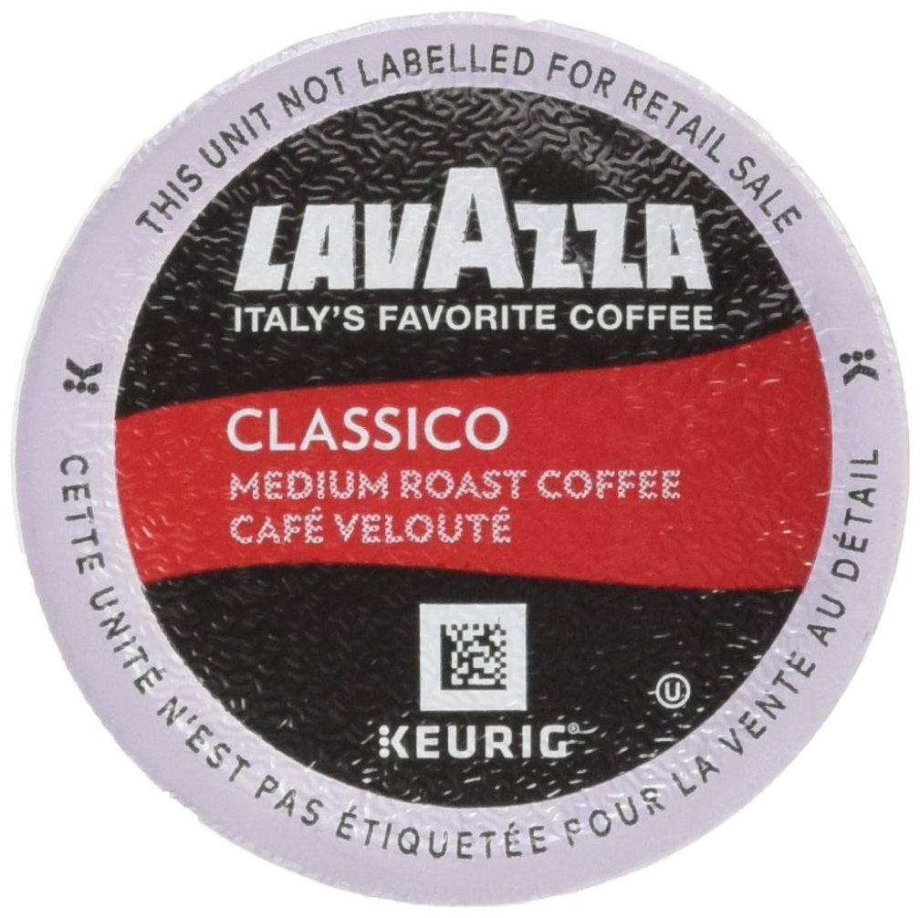 Lavazza K-Cup Portion Pack for Keurig Brewers, Classico, 22 Count