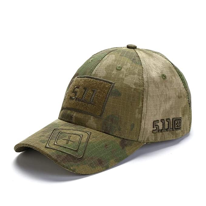 c0cd74b5d93 Camouflage Baseball Cap Unisex 511 Tactical Army Outdoor Quick Dry Done Snapback  Camo Fishing Hiking Casual